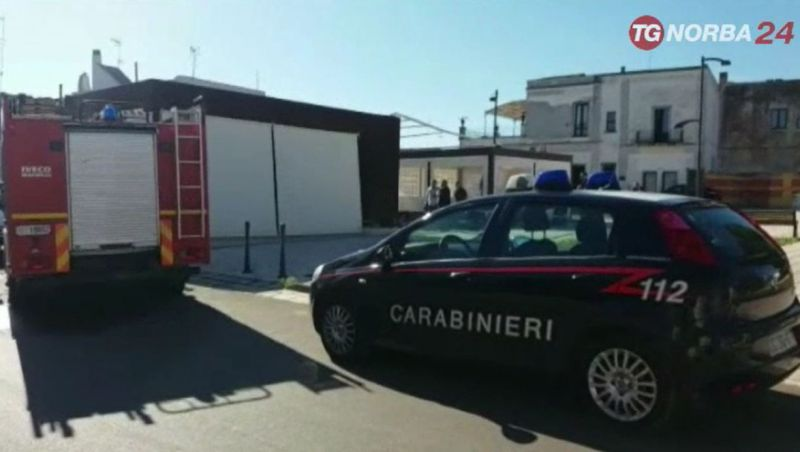 Ruffano, incendio in un bar-griglieria